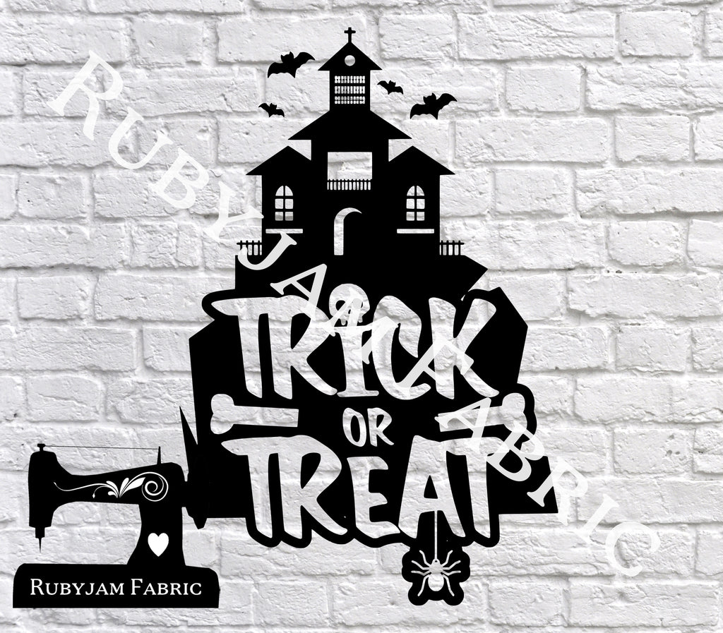Trick Or Treat House - SVG/JPG/PNG