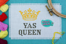 Yas Queen - Cross Stitch Pattern - Kitsch Stitch Studio