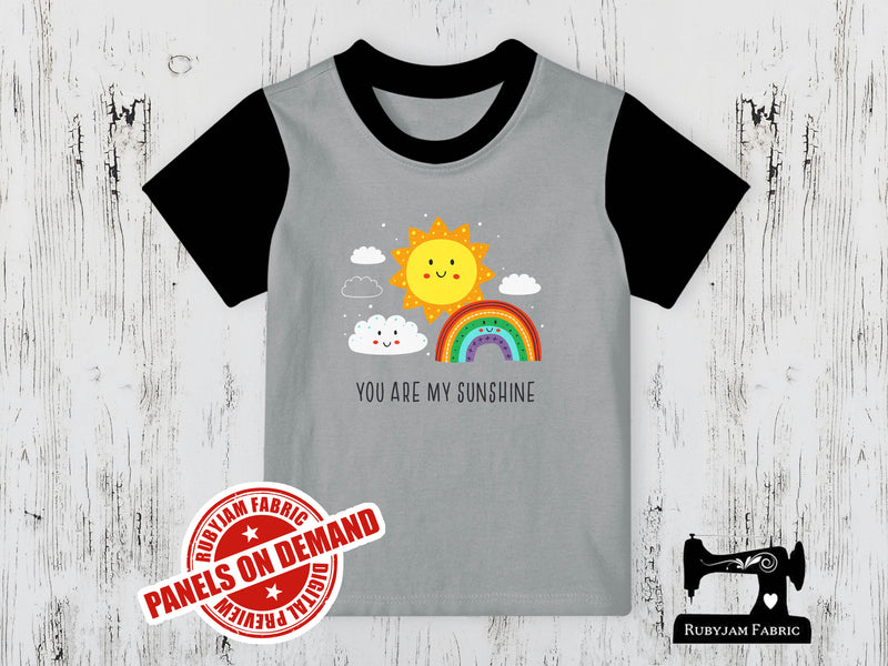 You Are My Sunshine - HEATHER GREY - Panels On Demand