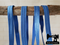 "1M Blue - Solid - 5/8"" (16mm) - Fold Over Elastic (FOE)"