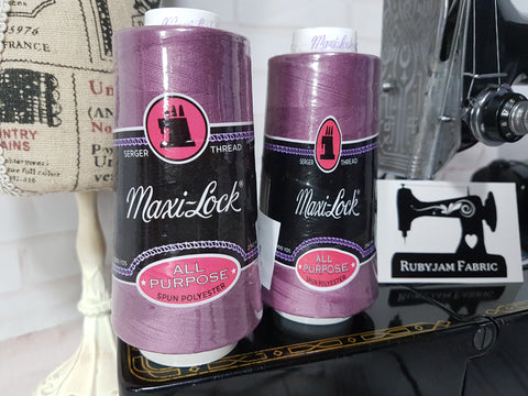 Maxi-Lock All Purpose Thread - Boysenberry (purple)