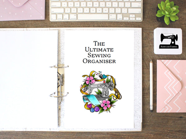 Rubyjam Fabric - The Ultimate Sewing Organiser