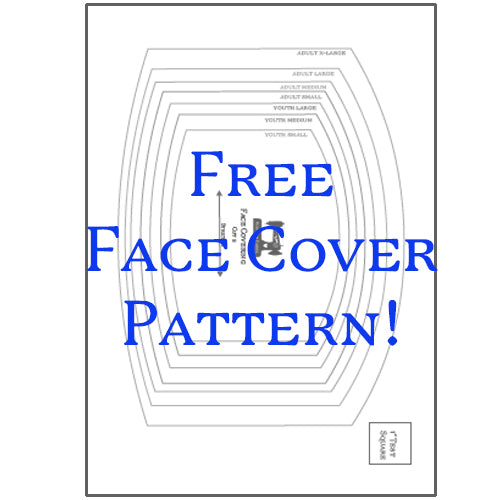 Rubyjam Fabric - Face Cover Pattern