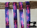 "1M Nebula - Printed - 5/8"" (16mm) - Fold Over Elastic (FOE)"