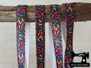 "1M Sprinkles - Printed - 5/8"" (16mm) - Fold Over Elastic (FOE)"