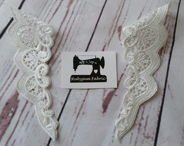 Lace Flutter Sleeve Trims - clearance