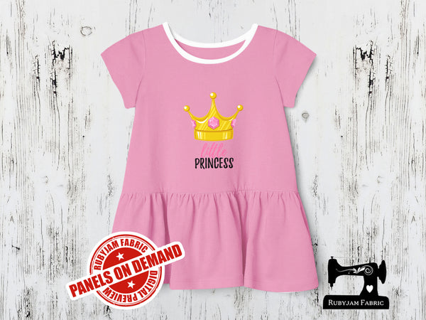 Little Princess - LIGHT PINK - Panels On Demand