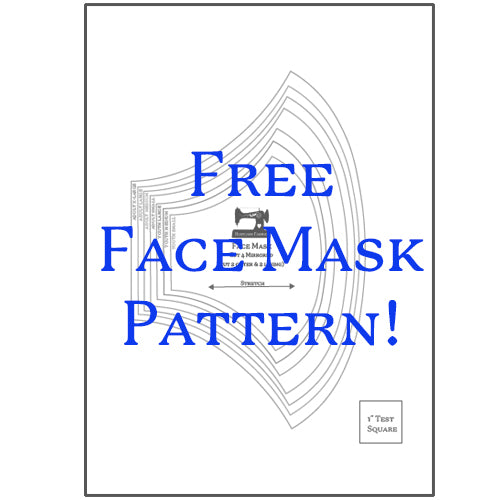 Rubyjam Fabric - Face Mask Pattern
