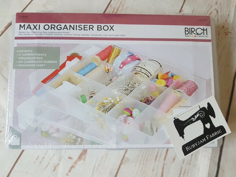 Birch Maxi Organiser Box