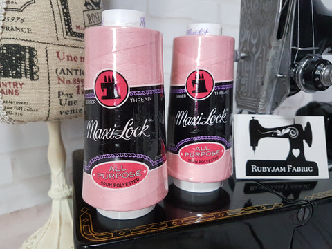 Maxi-Lock All Purpose Thread - Medium Pink