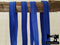 "1M Mid Blue - Solid - 5/8"" (16mm) - Fold Over Elastic (FOE)"