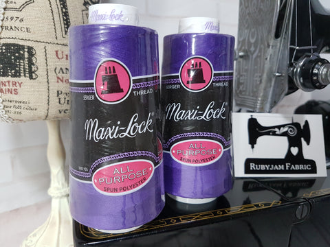 Maxi-Lock All Purpose Thread - Purple