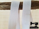 1M Ribbed Non-Roll Elastic (25mm wide)