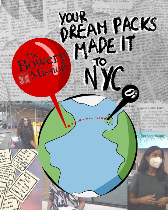 YOUR DREAM PACKS MADE IT TO NYC!