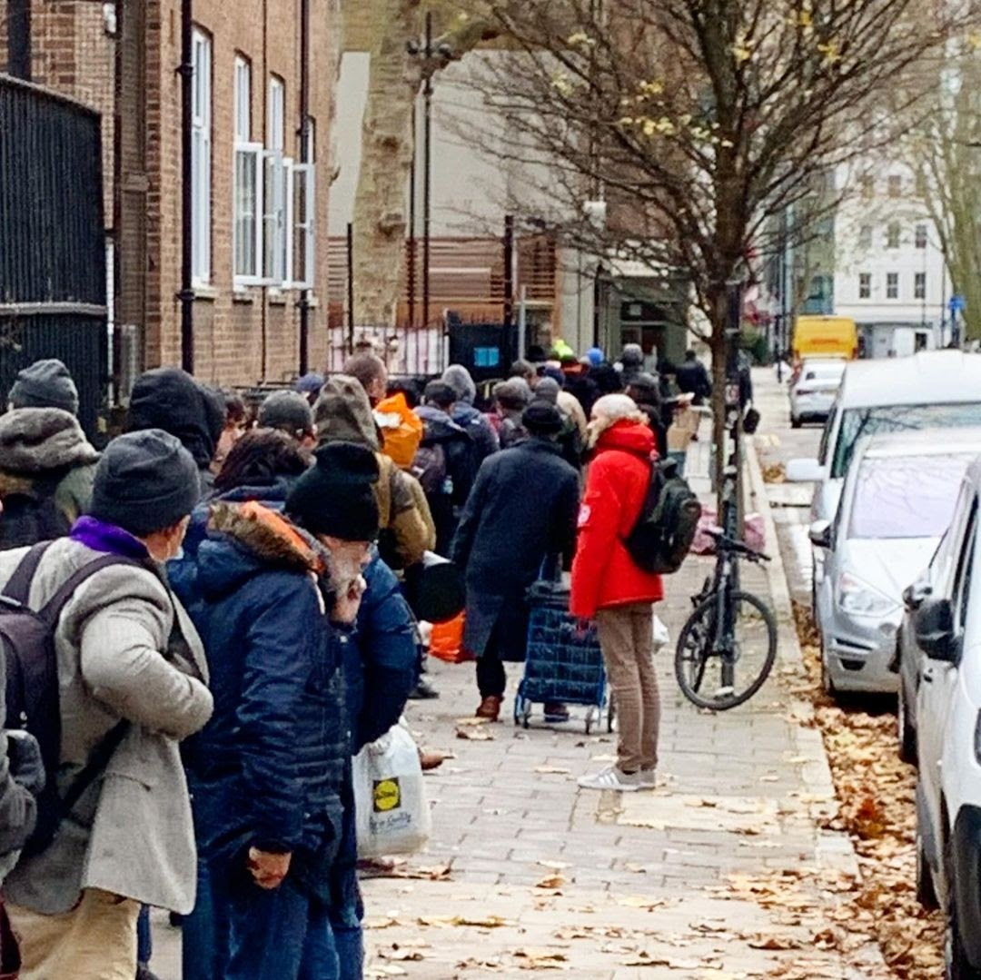 london soup kitchen giving back hot meals outsidein weareoi