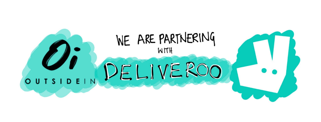 WE HAVE PARTNERED WITH DELIVEROO