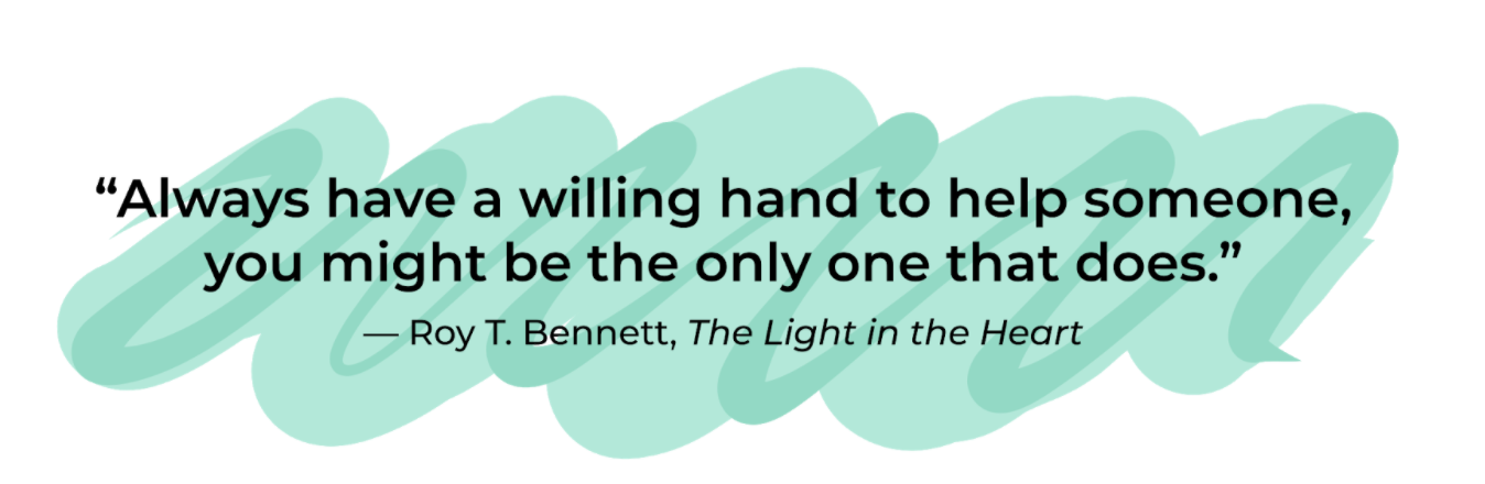 Quote by Roy T Bennet, The Light in the Heart