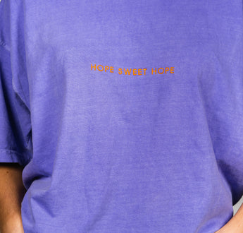 Load image into Gallery viewer, Lavender HOPE SWEET HOPE T-Shirt | OutsideIn