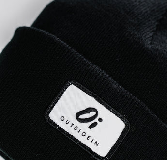 Load image into Gallery viewer, Jet Black Beanie