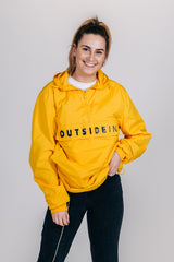 OutsideIn Yellow Half Zip