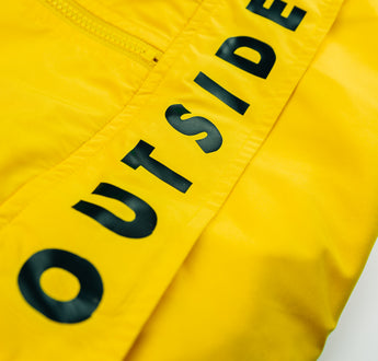 Load image into Gallery viewer, OutsideIn Yellow Half Zip