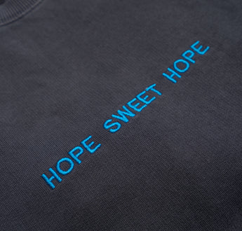 Load image into Gallery viewer, Charcoal Hope Sweet Hope Sweater