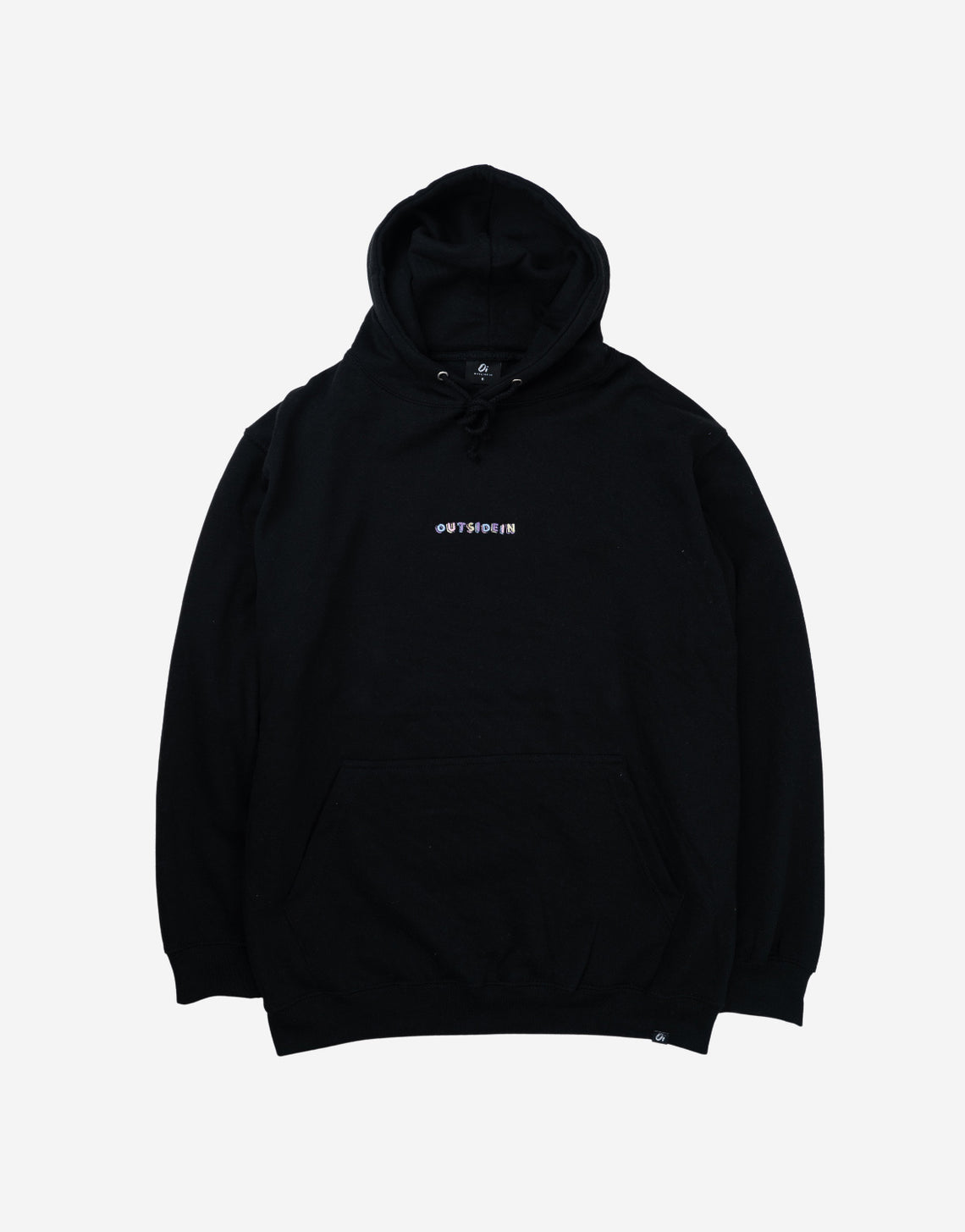 Black Building Blocks Hoodie - OutsideIn