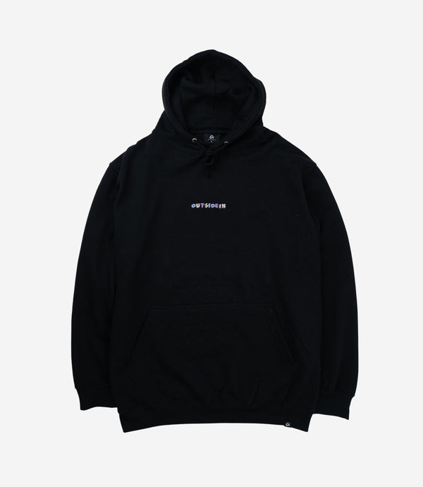 Black Building Blocks Hoodie