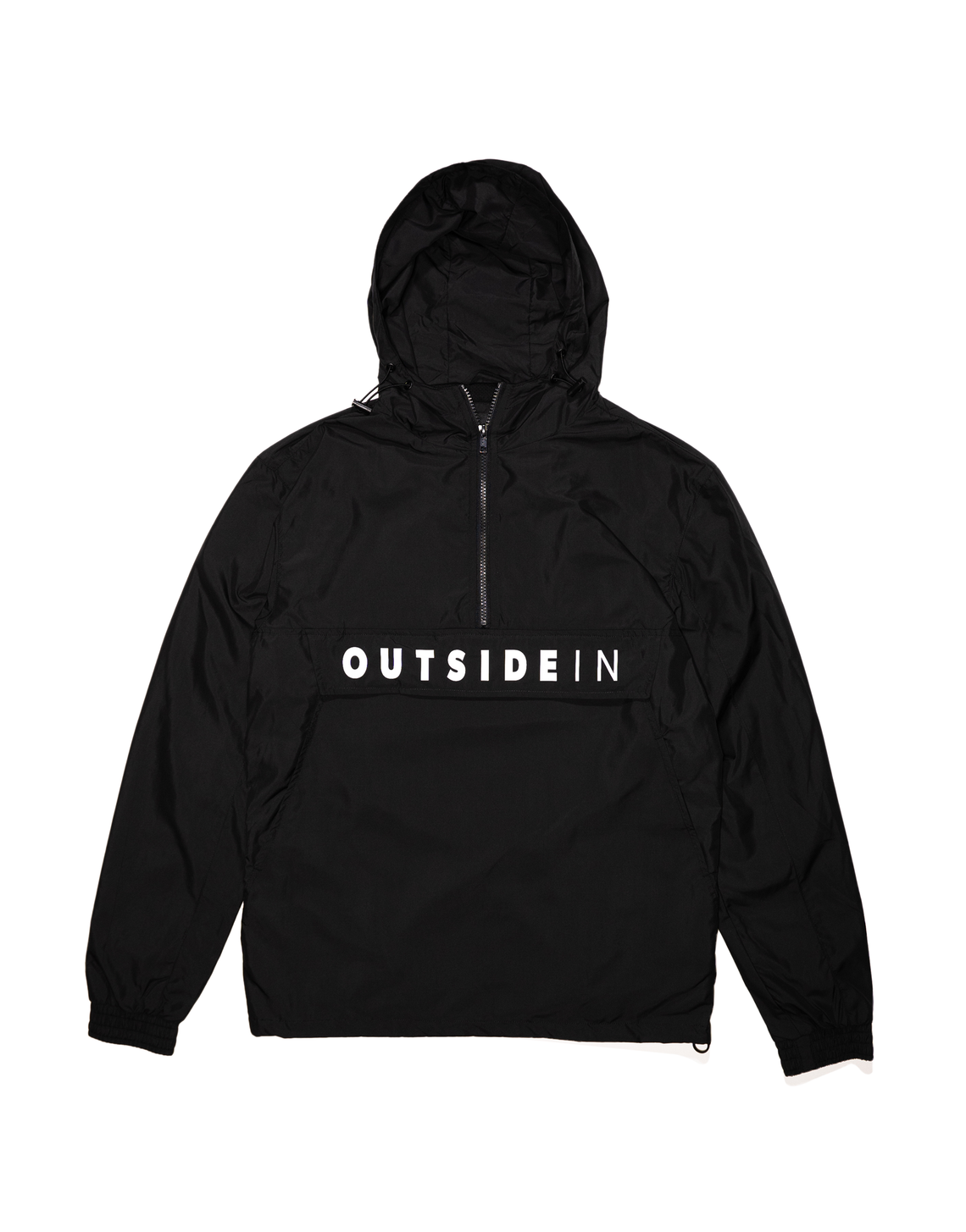 OutsideIn Black 1/2 Zip - OutsideIn