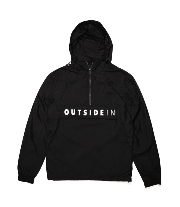 OutsideIn Black 1/2 Zip