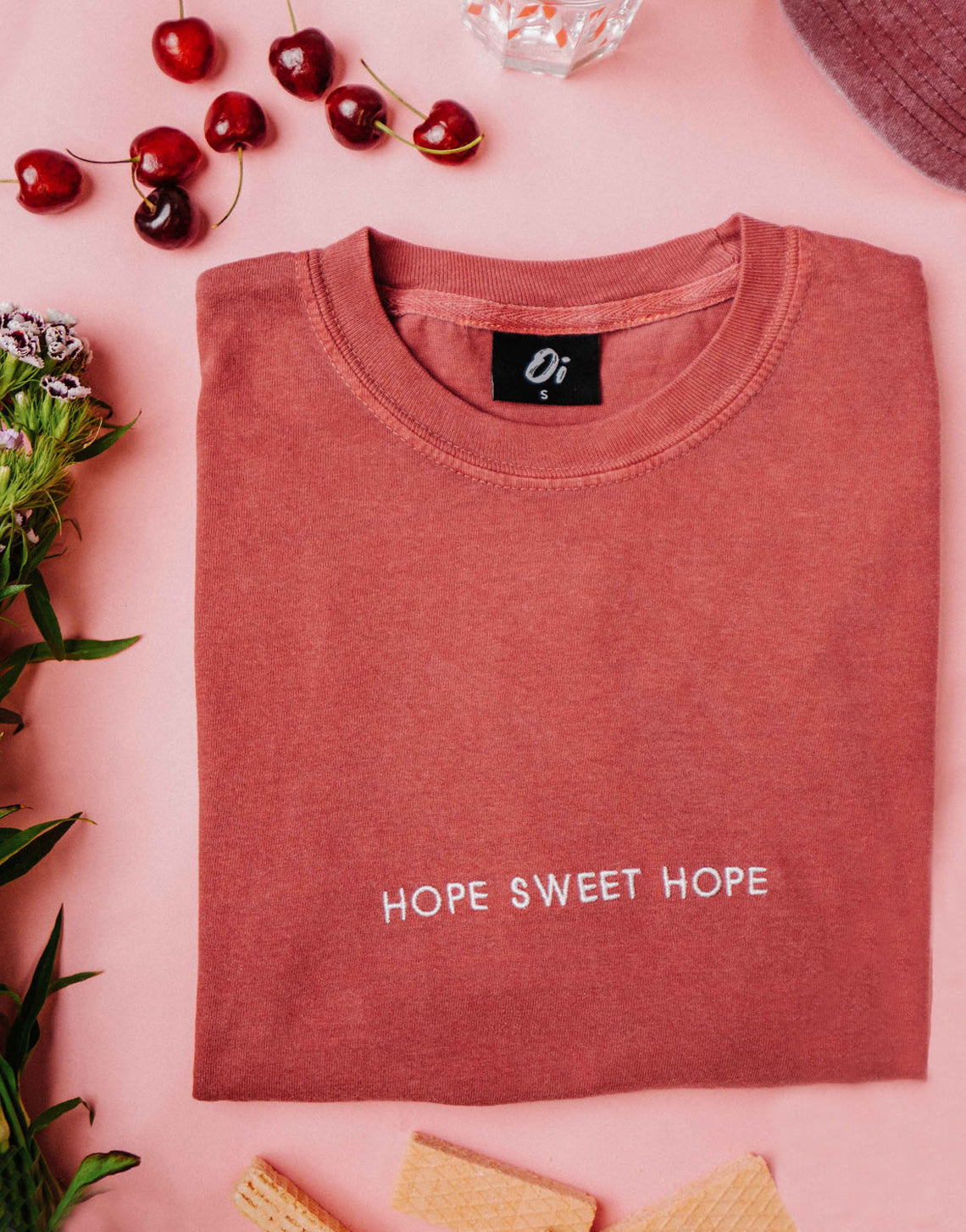 Burgundy Hope Sweet Hope T-Shirt