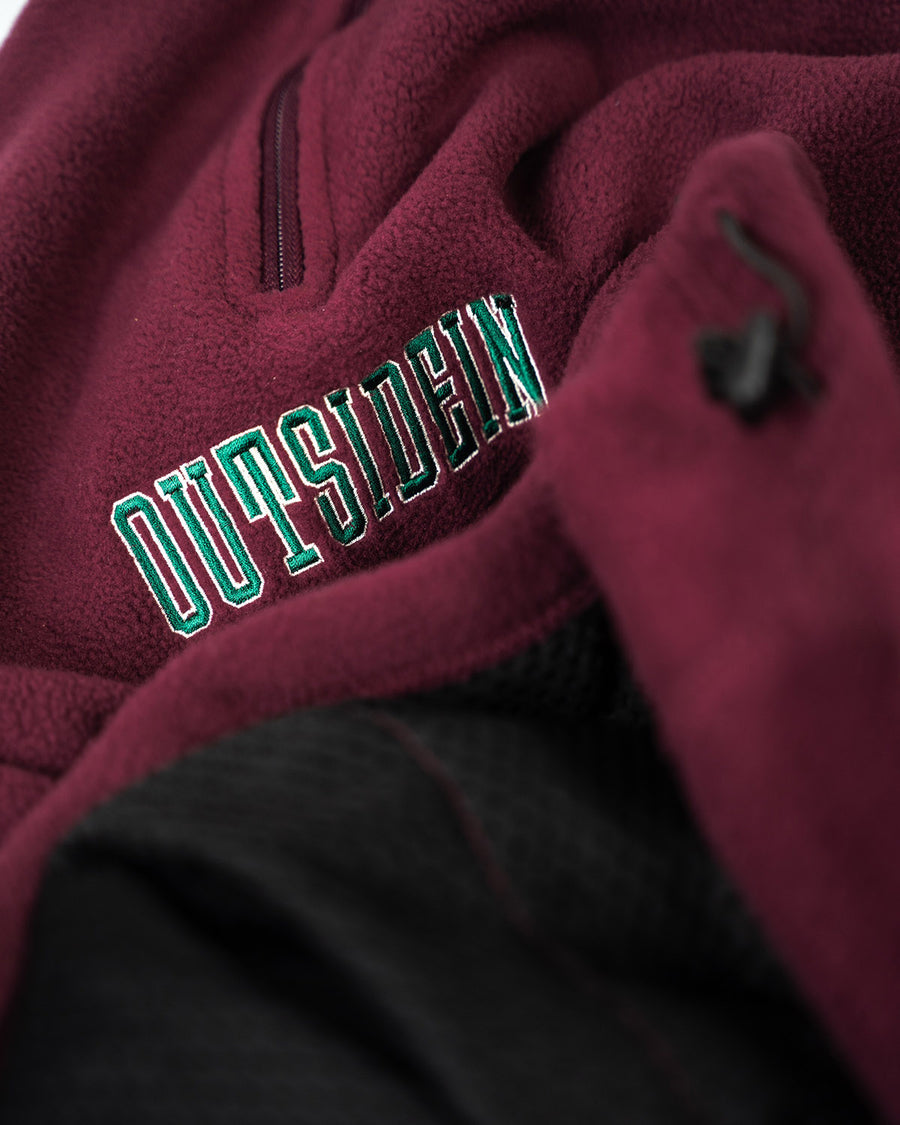 Burgundy Varsity Fleece