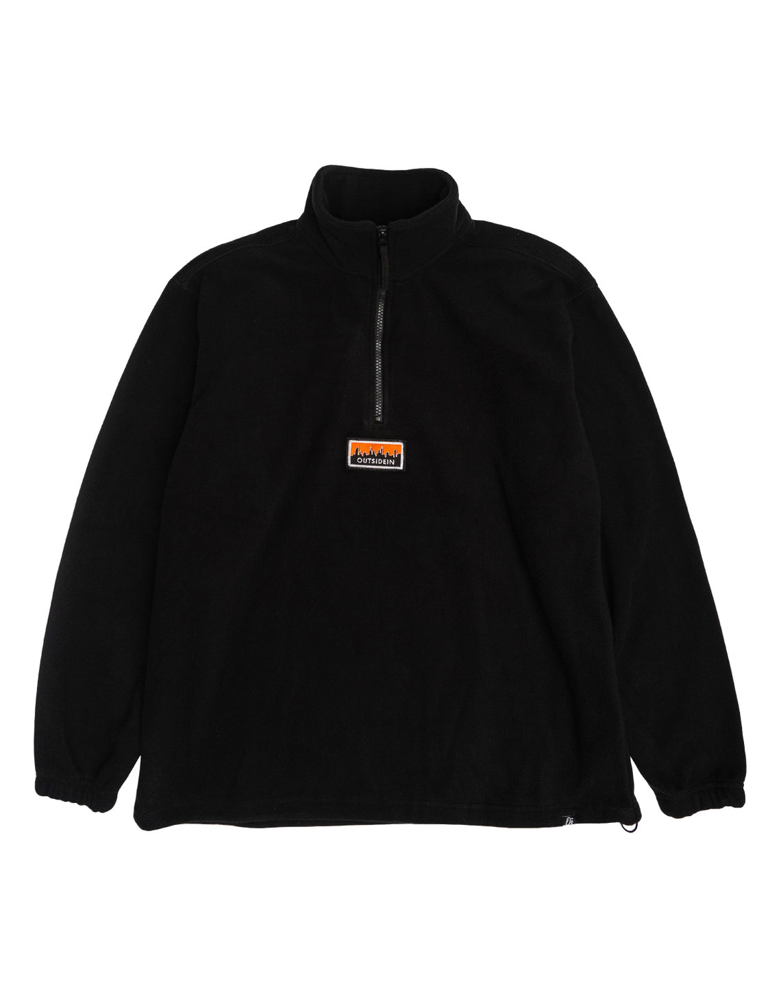 Cityscape Fleece Black - OutsideIn