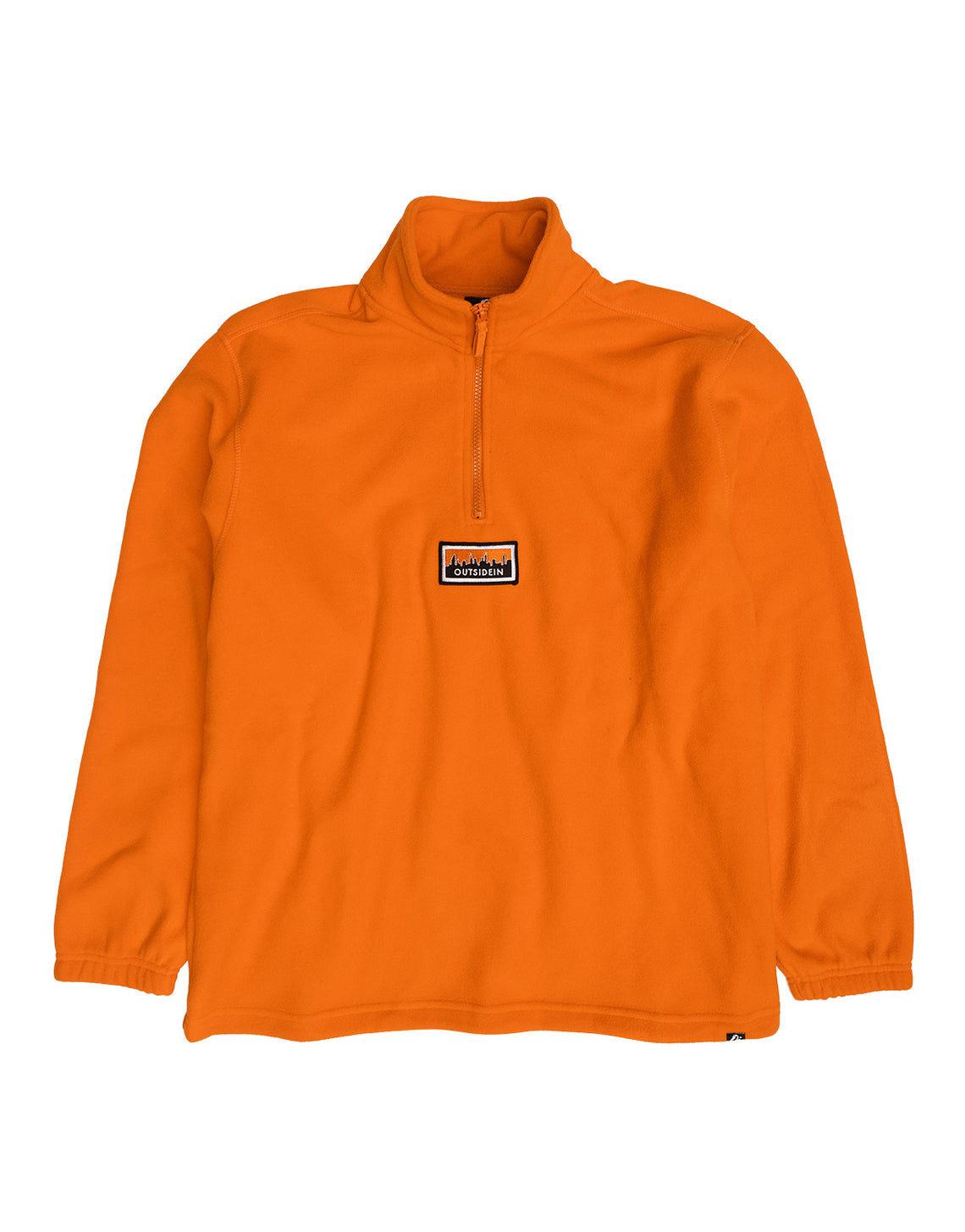 Cityscape Fleece Orange - OutsideIn