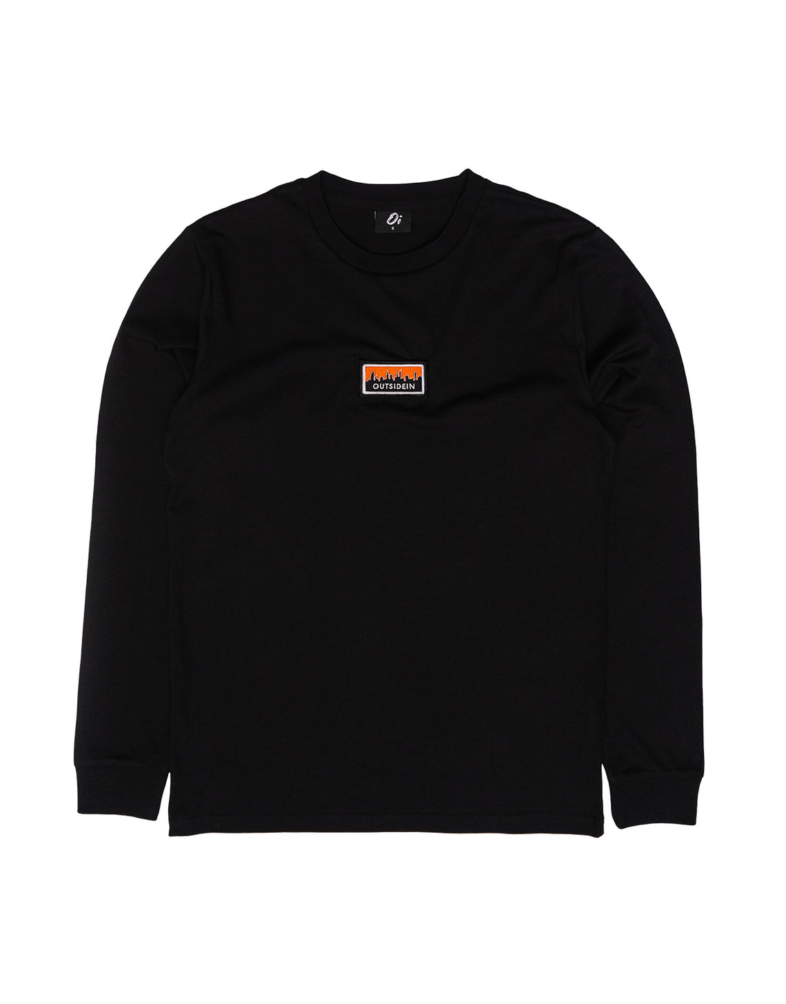 Cityscape Long Sleeve T-Shirt Black - OutsideIn
