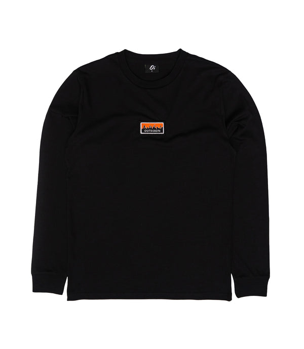 Cityscape Long Sleeve T-Shirt Black