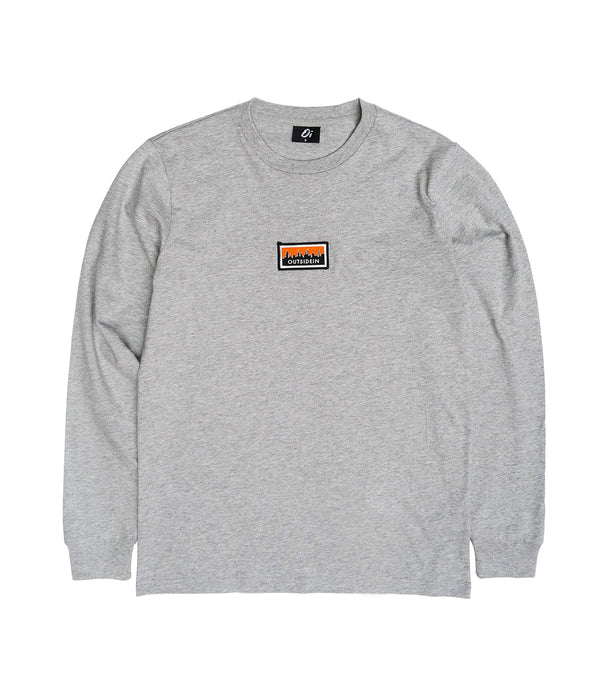 Cityscape Long Sleeve T-Shirt Grey