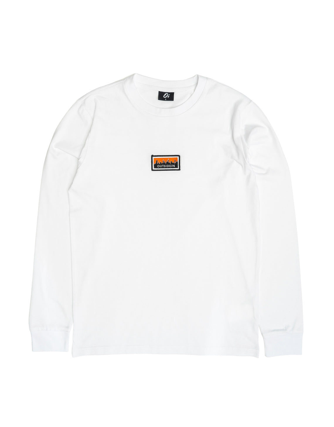 Cityscape Long Sleeve T-Shirt White - OutsideIn