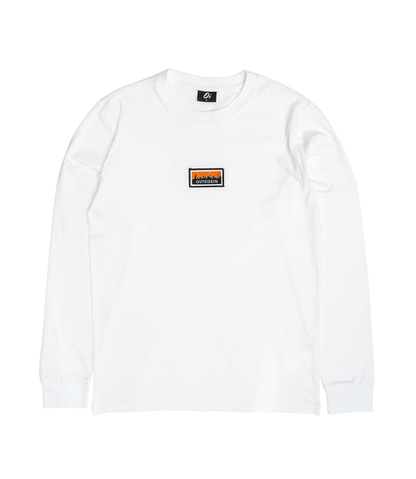 Cityscape Long Sleeve T-Shirt White