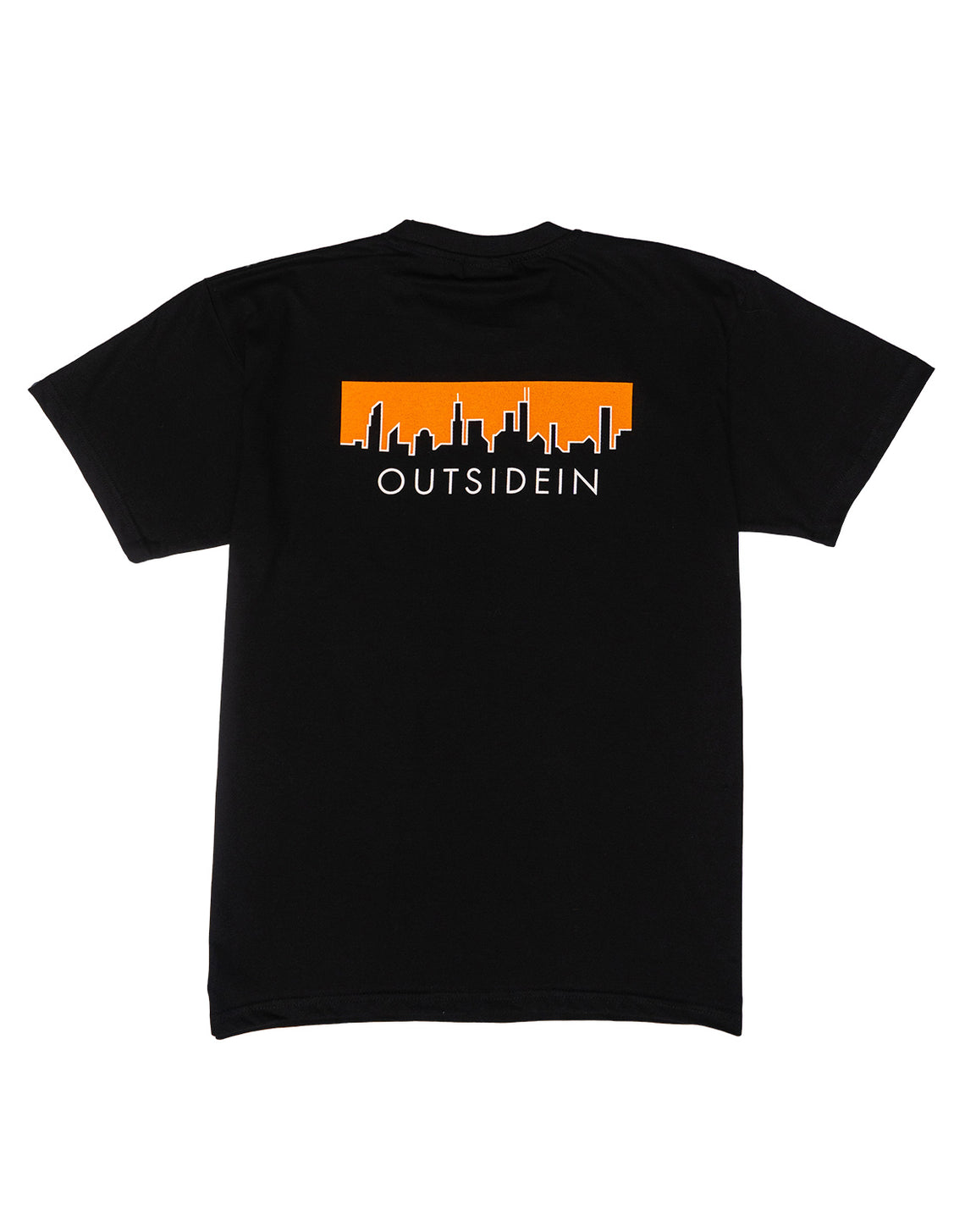 Cityscape T-Shirt Black - OutsideIn