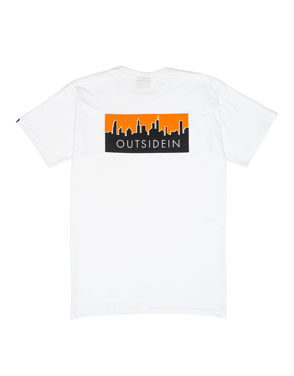 Cityscape T-Shirt White - OutsideIn