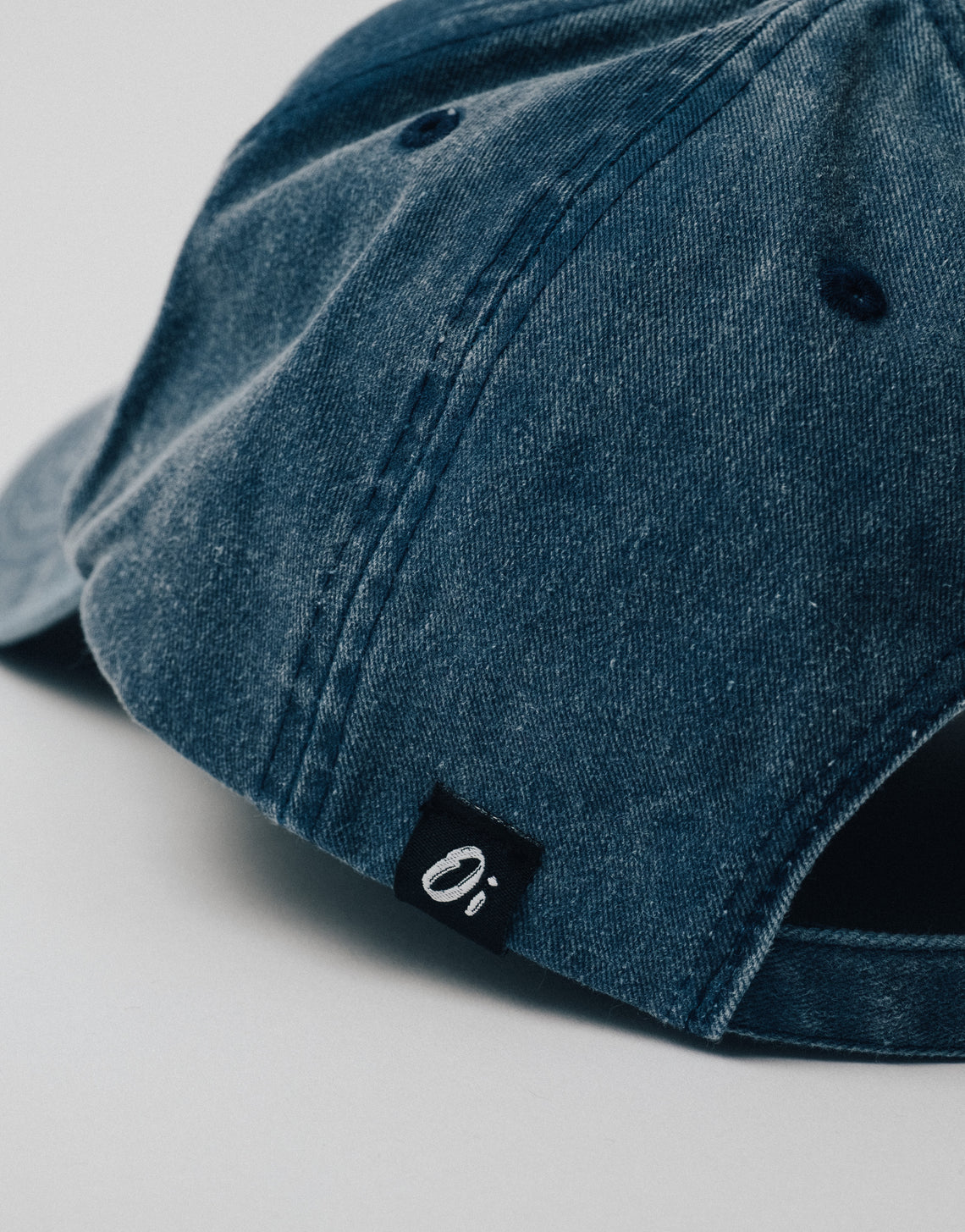 Washed Denim OutsideIn Dad Cap