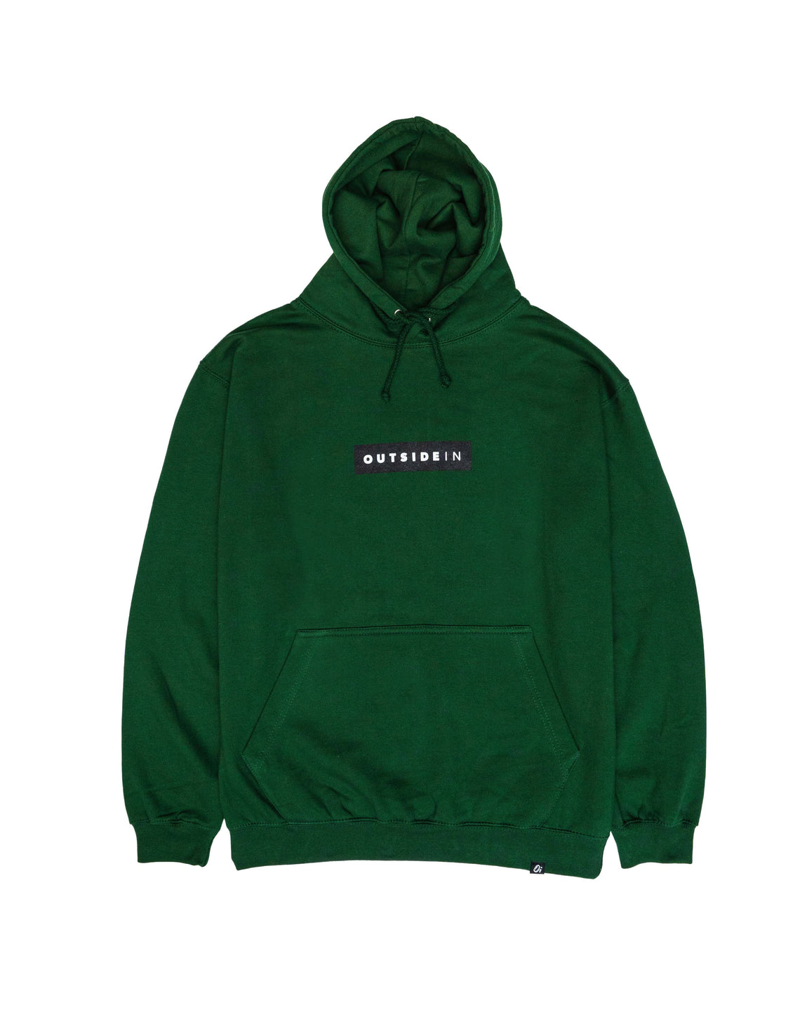 Essential Green Block Hoodie - OutsideIn