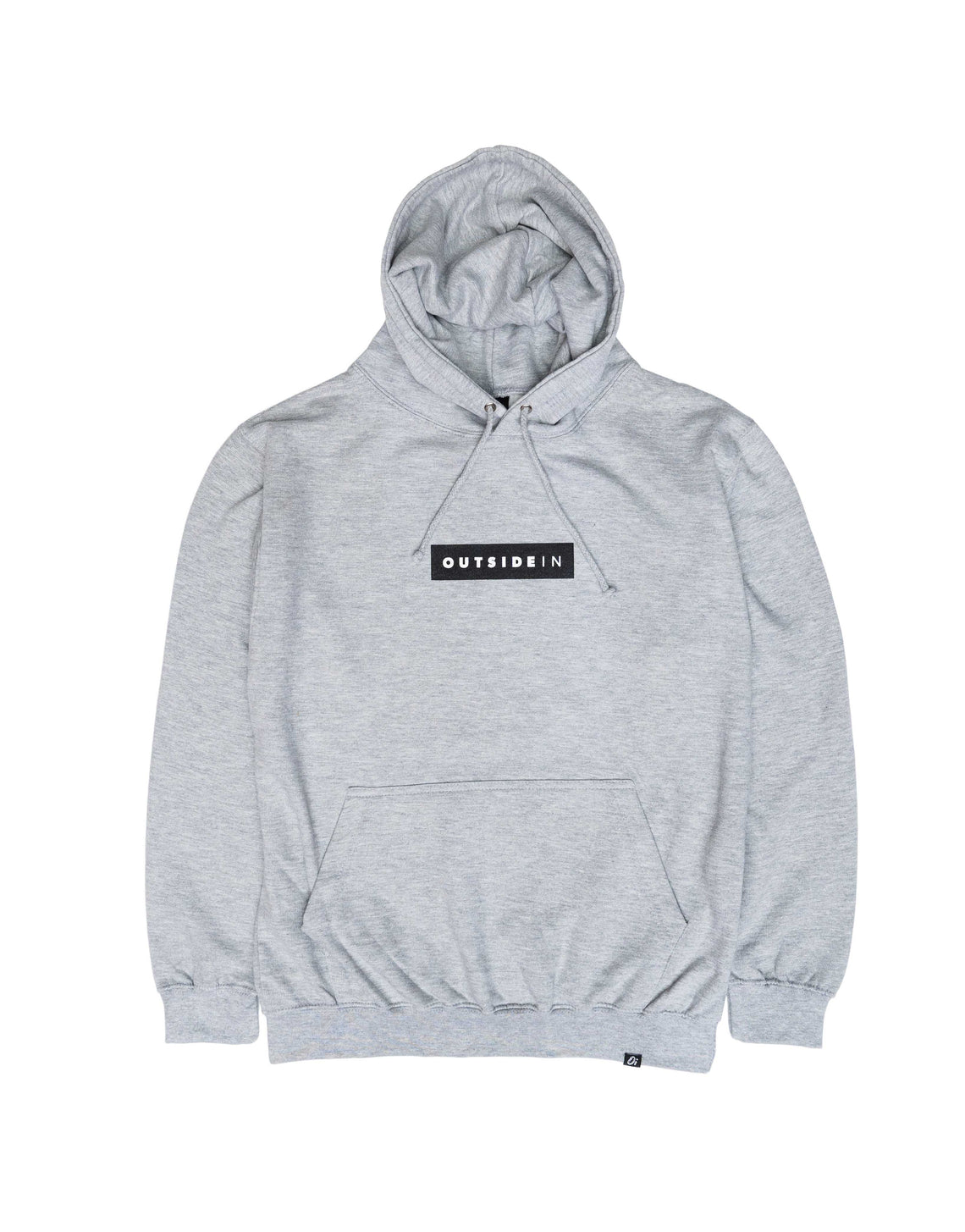 Essential Grey Block Hoodie - OutsideIn