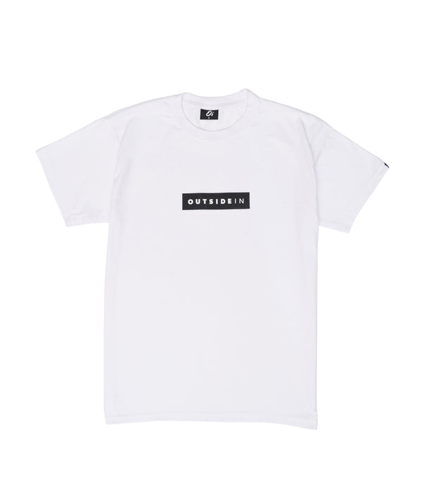 Essential White Block T-Shirt