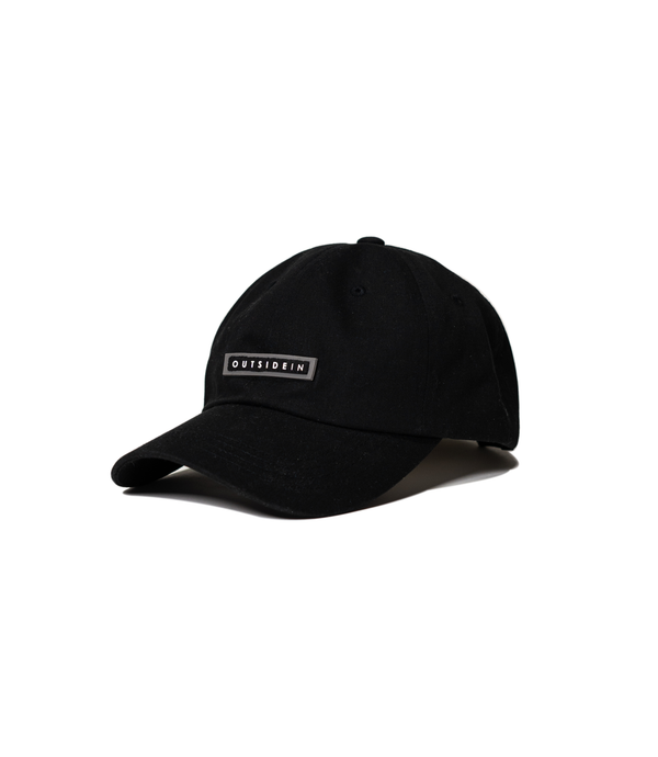 Black OutsideIn Dad Cap