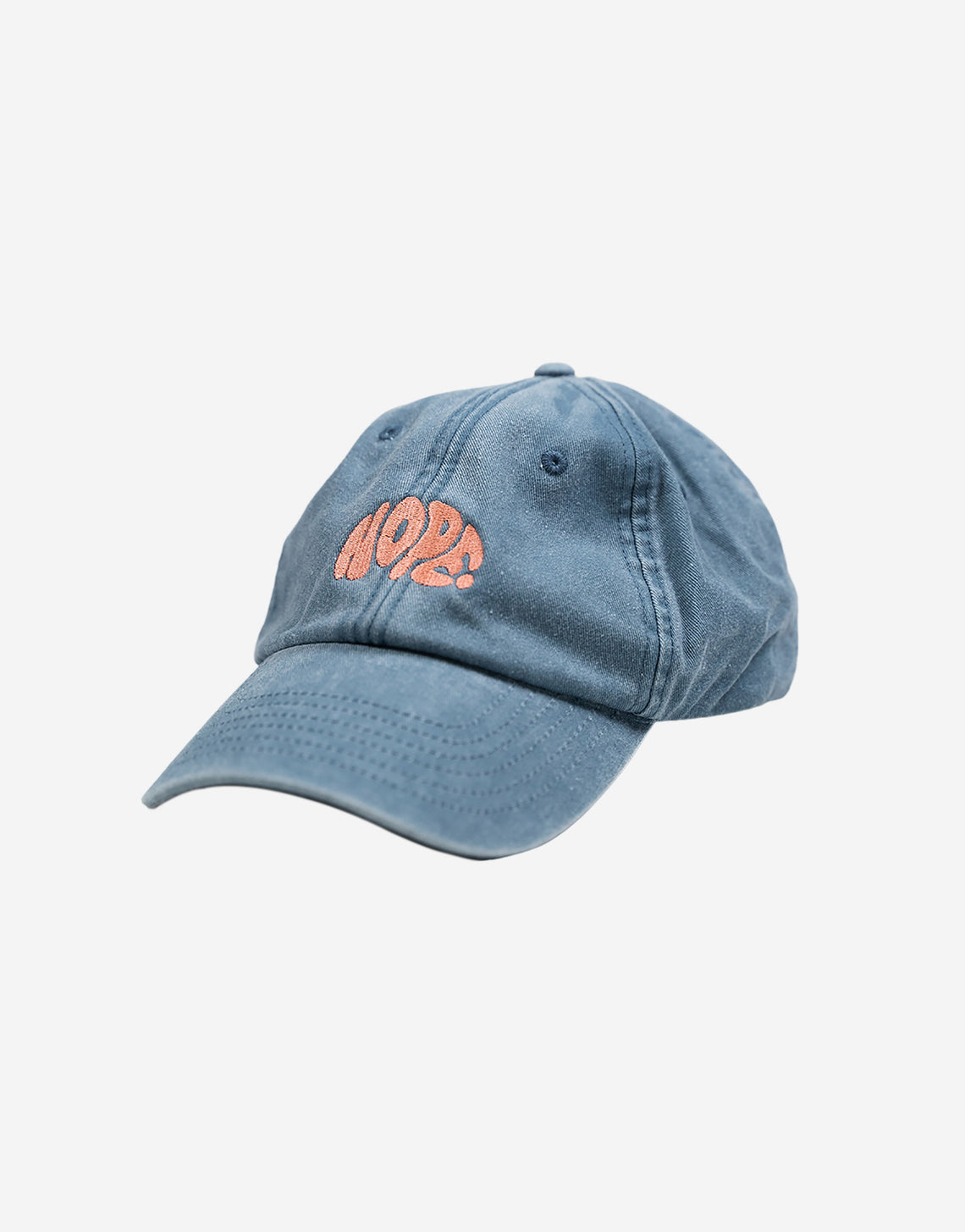 Blue Washed Hope Dad Cap - OutsideIn