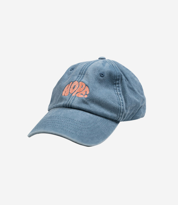 Blue Washed Hope Dad Cap
