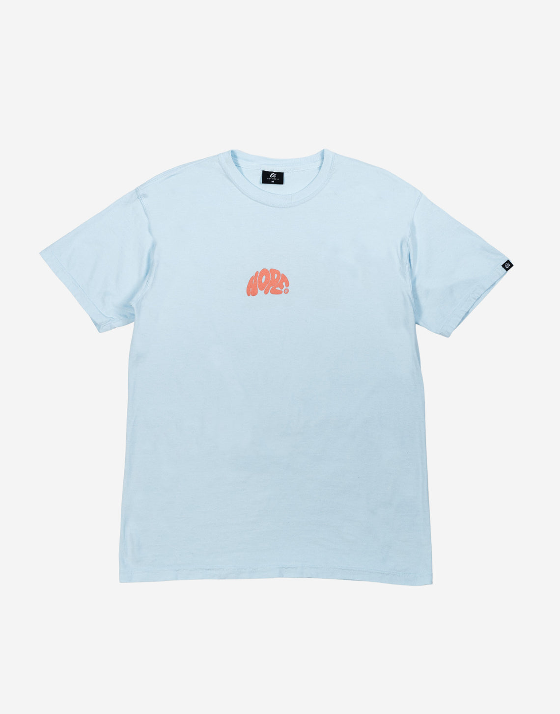 Blue Washed Hope T-Shirt - OutsideIn