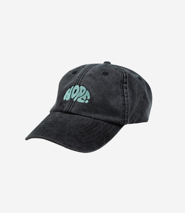 Charcoal Washed Hope Dad Cap